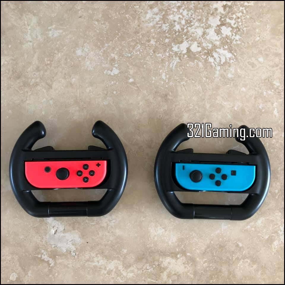 Nintendo Switch controller in Dobe Wheel