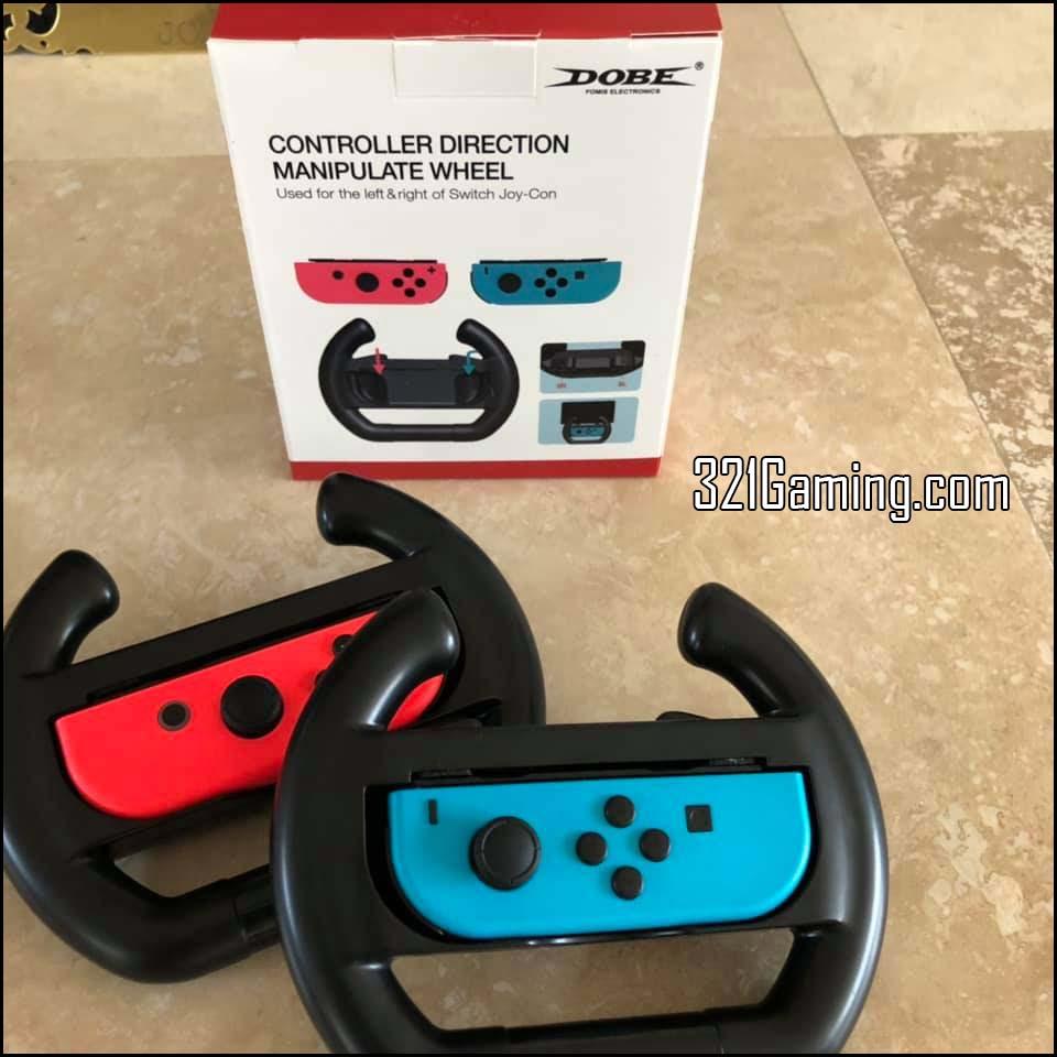 Dobe Wheel Review for Nintendo Switch