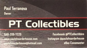 Business card PT Collectibles