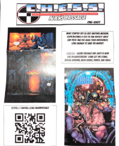 CHESS Promo - original comic