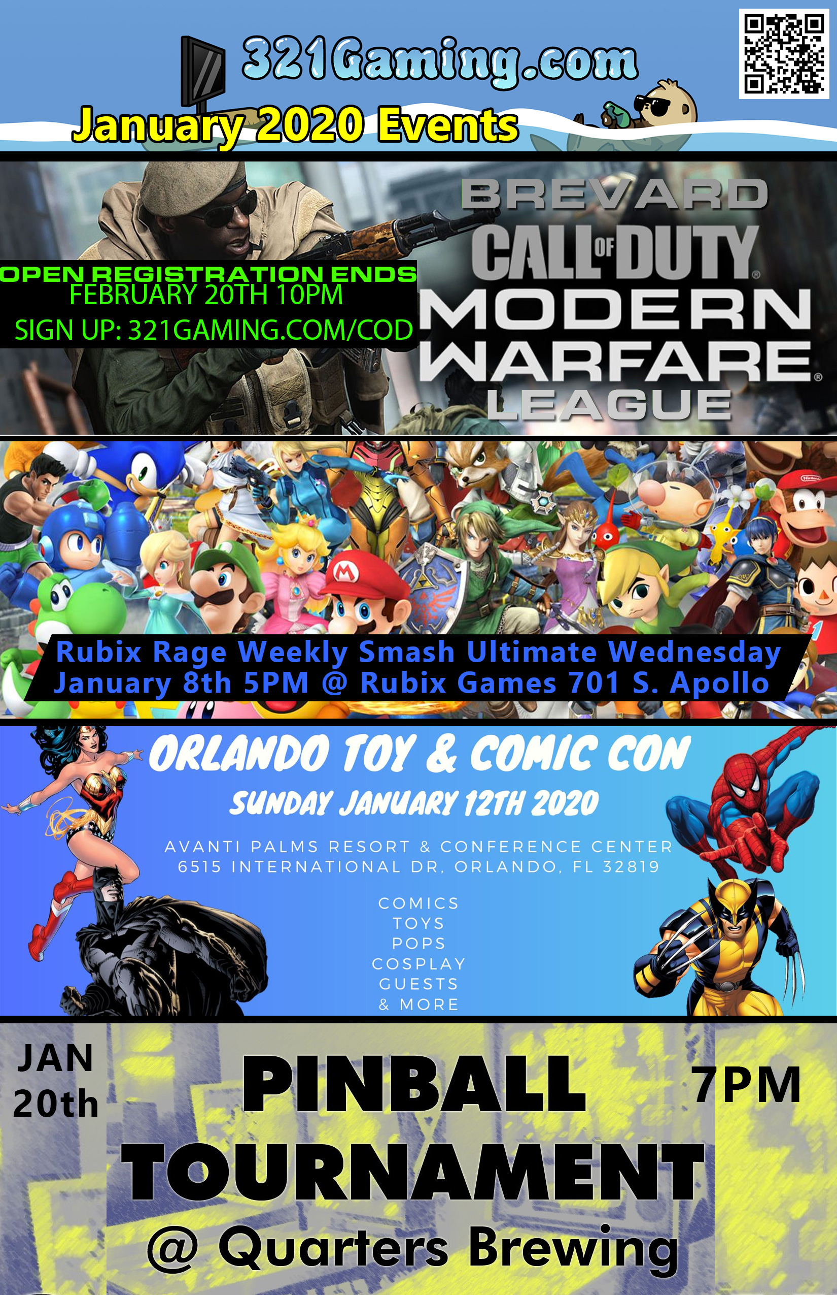 florida gaming events