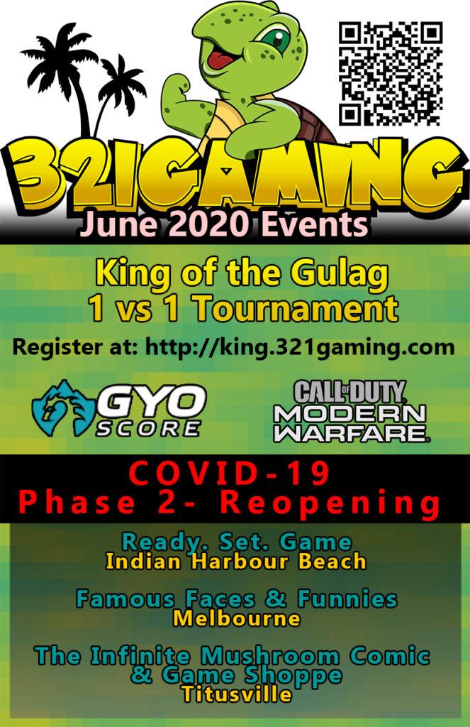 Brevard Gaming Events June