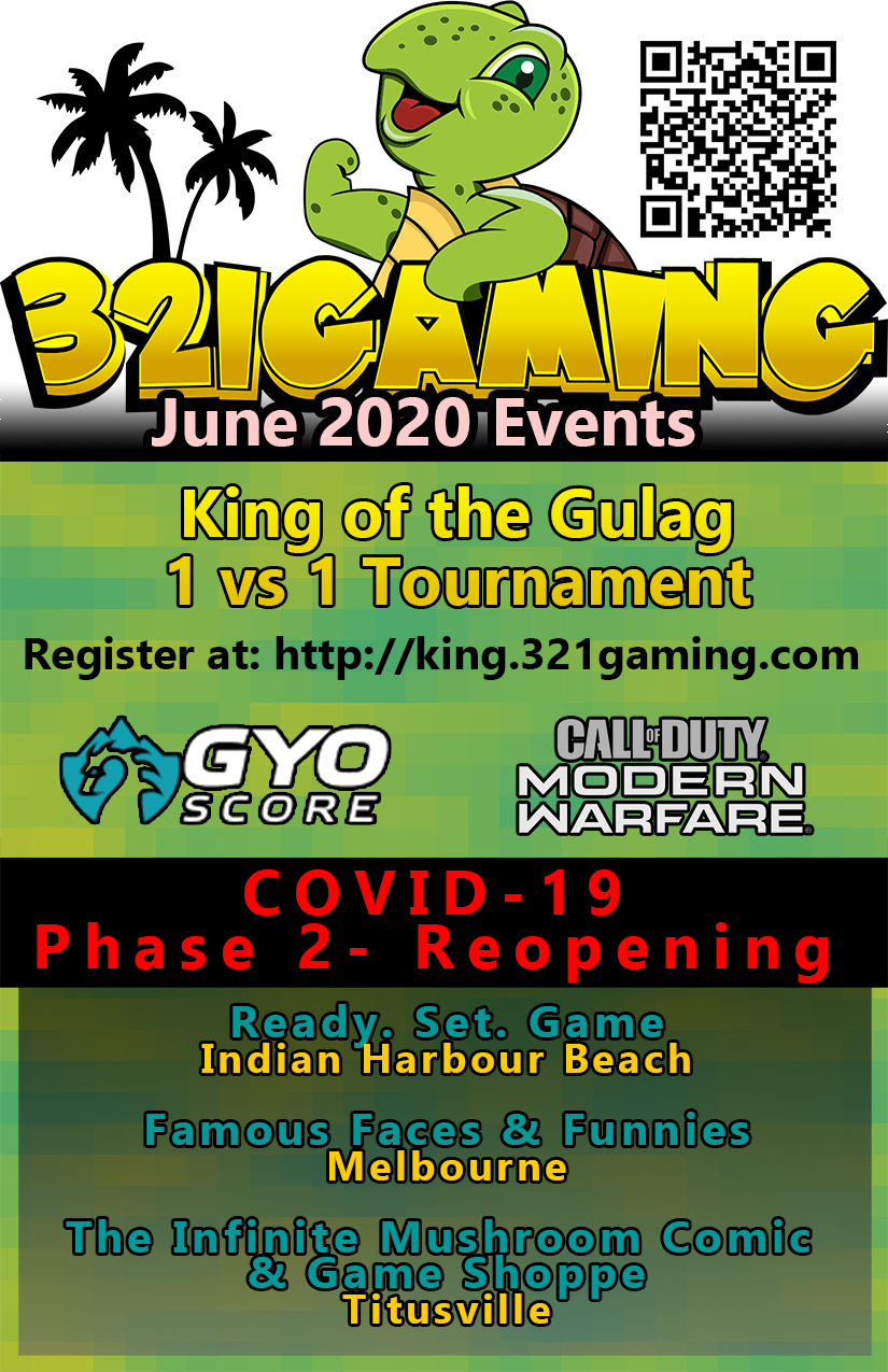 Brevard Gaming Events June